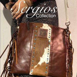 Beautiful and unique crossbody handbag